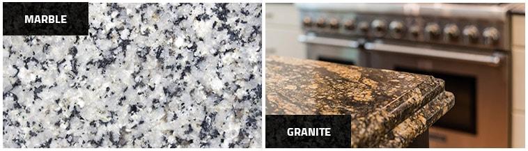 Marble & Granite Benchtops