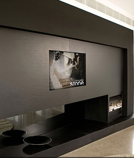 Wall Panel Flushmounted TV Surround