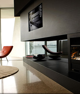 Fire Place, hearth And Surround
